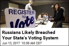 Russians Likely Breached Your State's Voting System