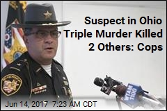 Suspect in Ohio Triple Murder Killed 2 Others: Cops