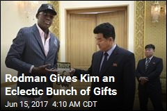 Rodman Gives Kim Trump's Art of the Deal