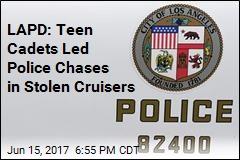 LAPD: Teen Cadets Stole Cruisers, Stun Guns, More