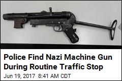 Aussie Cops Bust Man With Nazi Machine Gun in Car
