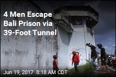 Inmates Dig Tunnel, Bust Out of Bali Prison