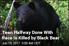 Teen Halfway Done With Race Is Killed by Black Bear