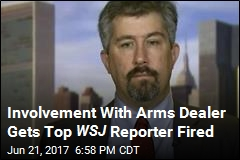 Reporter Fired for Involvement With Iranian-Born Arms Dealer