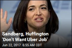 Sources: Uber Wants Sheryl Sandberg as Next CEO