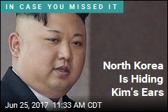 North Korea Doesn't Want You to See Kim's Ears