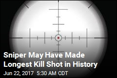 Sniper May Have Made Longest Kill Shot in History