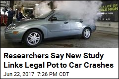 Researchers Say New Study Links Legal Pot to Car Crashes