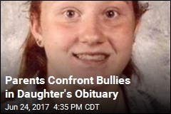 15-Year-Old's Obituary Calls Out Bullying