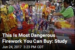 This Is Most Dangerous Firework You Can Buy: Study