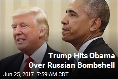 Trump: Obama Choked on Russian Meddling