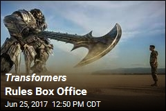 Transformers Rules Box Office