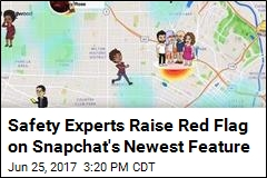 Safety Experts Raise Red Flag on Snapchat's Newest Feature