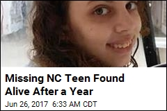 Missing NC Teen Found Alive After a Year