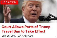 Court Allows Parts of Travel Ban to Take Effect