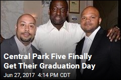 Central Park Five Finally Get Their Graduation Day