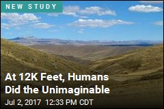 At 12K Feet, Humans Did the Unimaginable