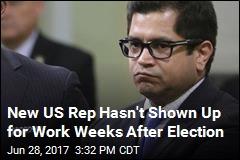 3 Weeks After Winning Election, New Congressman Is Still MIA