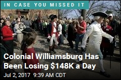 Colonial Williamsburg Has Been Losing $148K a Day