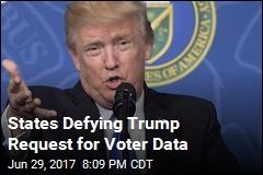 Trump Commission on Voting Fraud Is Seeking Voter Data