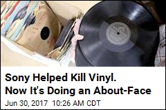 Sony Helped Kill Vinyl. Now It's Doing an About-Face