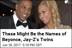 These Might Be the Names of Beyonce, Jay-Z's Twins
