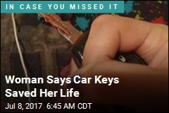 Woman Says Car Keys Saved Her Life