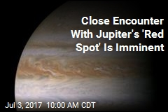 Close Encounter With Jupiter's 'Red Spot' Is Imminent