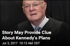 Kennedy Message to Clerks Reignites Retirement Rumors