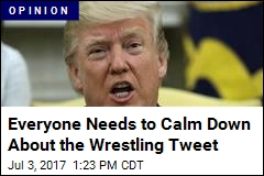 Everyone Needs to Calm Down About the Wrestling Tweet