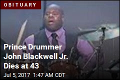 Prince Drummer John Blackwell Jr. Dies at 43