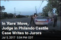 In 'Rare' Move, Judge in Philando Castile Case Writes to Jurors