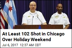 More Than 100 Shot Over Weekend in Chicago