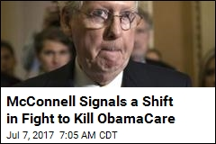 McConnell: We May Have to Fix ObamaCare, Not Kill It