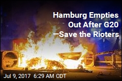 G-20 Now Over, Hamburg Riots Anyway
