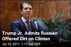 Trump Jr. Was Promised Clinton Info in Meeting With Russian