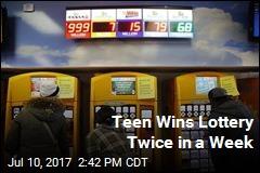 Teen Scores 2 Big Lottery Wins in 1 Week