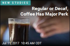 Regular or Decaf, Coffee Has Major Perk