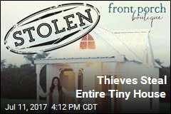 Thieves Steal Entire Tiny House