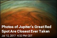 Jupiter's Great Red Spot Gets Its Closeup