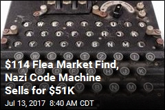 Rare Nazi Code Machine Sells at Auction for $51K