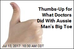 Man Loses Thumb, Gets Big Toe in Its Place