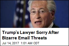 Trump's Lawyer Apologizes for Profanity-Filled Email Threat