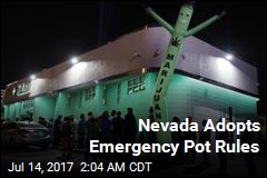 Nevada Moves to Fix Pot Emergency