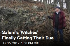 325 Years Later, Salem 'Witches' Will Be Memorialized