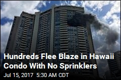 Fire in Hawaii Condo Without Sprinklers Kills 3