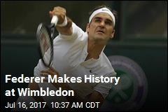 Federer Wins Record 8th Wimbledon Championship