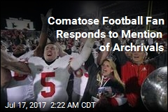 Buckeyes Fan in Coma Responds to Mention of Archrivals