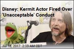 Disney: Kermit Actor Fired Over 'Unacceptable' Conduct