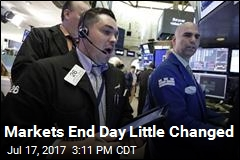 Markets End Day Little Changed